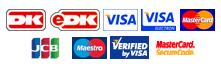 Betalingskort - korttyper